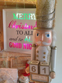 Large Nutcracker Ornament Perpetual Christmas Countdown Calender - Golden Grandeur Nutcracker Figurine